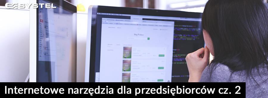 Internetowe narzędzia dla przedsiębiorców cz. 2 blog