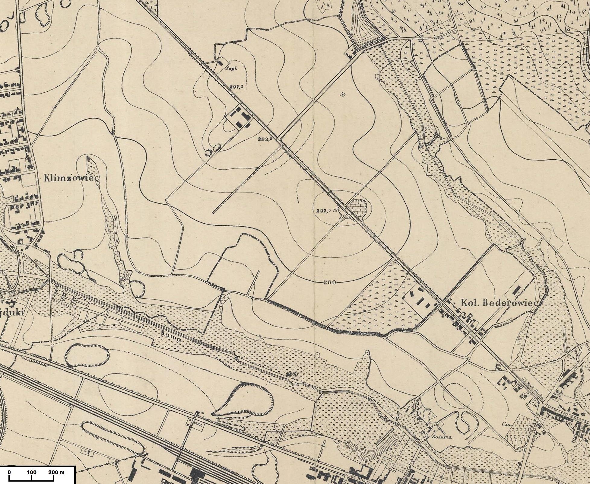 Katowice_obszar_Os._Tysiąclecia_1926