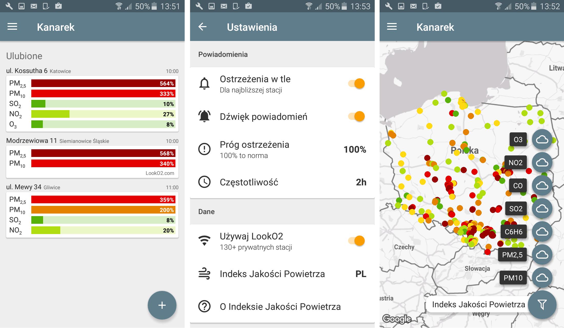 aplikacje mobilne kontra smog